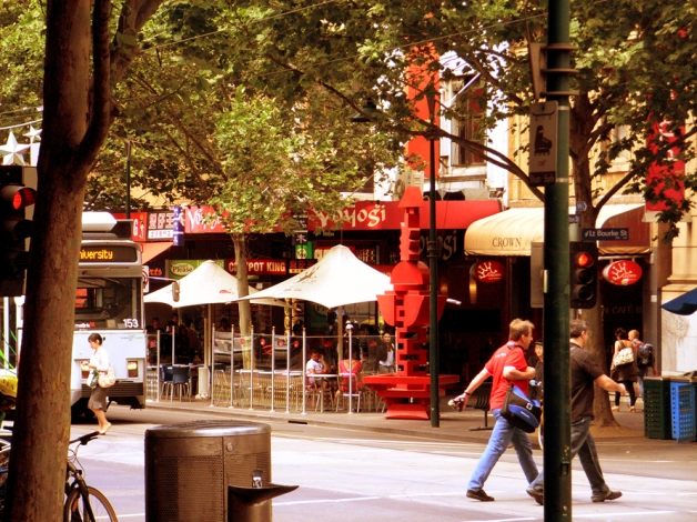 Melbourne - Somewhere near Little Bourke Street (2009)